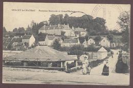 Oulchy-le-Château Fontaine Boutarde Cp Animée *  Aisne 02210 * Oulchy Le Château * Carte Circulée En Franchise Militaire - Autres Communes