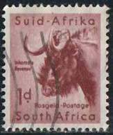 Afrique Du Sud 1954 Yv. N°202 - 1p Gnou - Oblitéré - Afrique Du Sud (...-1961)