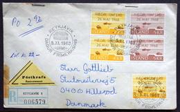 Iceland 1968  Minr.419-20  Reykjavik Stamp Day Cover      (2004 ) - 1944-... Republik