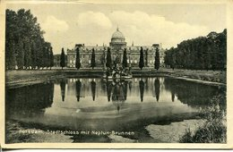 006177  Potsdam - Stadtschloss Mit Neptun-Brunnen  1931 - Potsdam