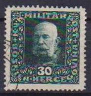 BOSNIA EZERGOVINA POSTA MILITARE 1916 EFFIGE DI FRANCESCO GIUSEPPE UNIF. 105 USATO VF - Bosnia Erzegovina