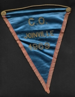Fanion Football CO Joinville 1969 - Apparel, Souvenirs & Other