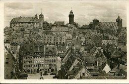 006178  Nürnberg - Burg-Panorama  1946 - Nürnberg