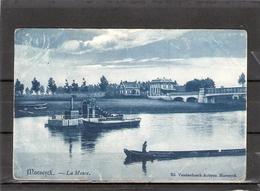 Maeseyck  -- La Meuse ( Met Baggerboot ) - Maaseik