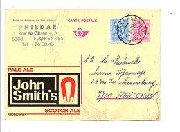 BELGIQUE PUBLIBEL JOHN SMITH'S OBLITERE N°2548 F - Publibels