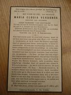 Overmere Lokeren Heiende Maria Verdonck 1864 1941 - Devotieprenten
