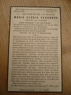 Overmere Lokeren Heiende Maria Verdonck 1864 1941 - Images Religieuses