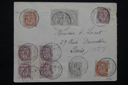 """FRANCE - Obli. """" Exposition De La Cité Reconstituée """" De Paris Sur Type Blancs Dont Millésime En 1916 - L 23218 - Marcophilie (Lettres)"""