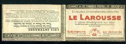 Carnet PAIX Couverture Vide Série 309 Et 310 Thèmes Larousse Redoude Laine Filatures Pelotes - Usage Courant
