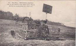 MONTREUX CHATEAU Lieu Ou Vint S Abattre Notre Celebre Pilote Pegoud Le 31 Aout 1915 - France