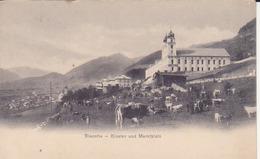 Disentis- Kloster Und Marktplatz - GR Grisons