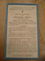Lokeren Heiende Johanna Roels 1941 1943 - Devotieprenten