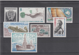 TAAF   POSTES 1992 N° 163 A 169   NEUFS XX - Poste Aérienne