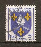 1954 - Armoiries De Provinces (VII) - Saintonge - N°1005 - 1941-66 Armoiries Et Blasons