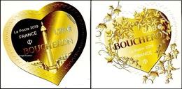 France Autoadhésif N° 1xca Et 1xcb ** Coeurs De Boucheron Pour Lettres Vertes - Adhésifs (autocollants)
