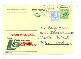 BELGIQUE PUBLIBEL LOTERIE NATIONALE OBLITERE N°2604 F. - Publibels