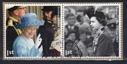 Great Britain 2012  2 X 1st Commemorative Stamp From The Diamond Jubilee Set. - 1952-.... (Elizabeth II)