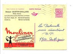 BELGIQUE PUBLIBEL MOULINEX OBLITERE N°2550 F. - Publibels