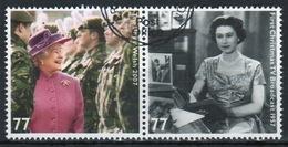 Great Britain 2012  2 X 77p Commemorative Stamp From The Diamond Jubilee Set. - 1952-.... (Elizabeth II)