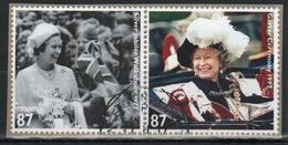 Great Britain 2012  2 X 87p Commemorative Stamp From The Diamond Jubilee Set. - 1952-.... (Elizabeth II)