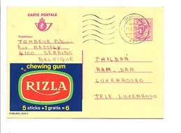 BELGIQUE PUBLIBEL CHEWING GUM RIZLA OBLITERE N°2635 F - Publibels