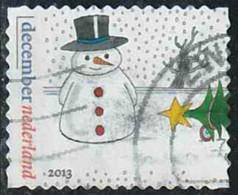 Pays-Bas 2013 Yv. N°3101 - Décembre - Bonhomme De Neige - Oblitéré - 2013-... (Willem-Alexander)