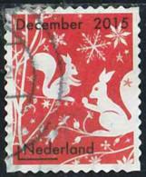 Pays-Bas 2015 Yv. N°3356 - Décembre - Ecureuils - Oblitéré - 2013-... (Willem-Alexander)