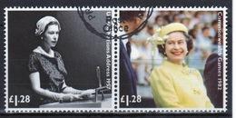 Great Britain 2012  2 X £1.28 Commemorative Stamp From The Diamond Jubilee Set. - 1952-.... (Elizabeth II)