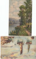 12268-N°. 9 CARTOLINE DI QUADRI-FP - Pittura & Quadri