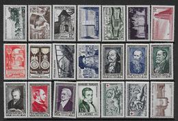 FRANCE - Année Complète 1952  **  - Cote : 114 € - France