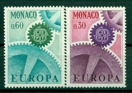 Monaco 1967 - Y & T  N. 729/30 - Europa - Monaco