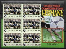 GRENADE Feuillet  N°  ( Allemagne )  * *  Cup 2006  Football  Soccer Fussball - 2006 – Allemagne