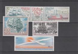 TAAF 1990  PA 110 A 114  NEUFS XX - Poste Aérienne