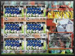 GRENADE Feuillet  N°  ( Italie )  * *  Cup 2006  Football  Soccer Fussball - 2006 – Allemagne