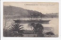 """CPA 06 VILLEFRANCHE SUR MER Yacht Imperial Russe """"Le Standard"""" - Villefranche-sur-Mer"""