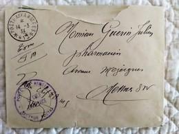 ENVELOPPE FRANCHISE MILITAIRE MAROC POSTE AUX ARMEES SECTEUR 415 14 3 1934 - Lettres & Documents
