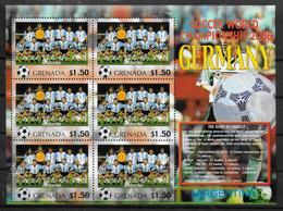 GRENADE Feuillet  N°  ( Argentine )  * *  Cup 2006  Football  Soccer Fussball - 2006 – Allemagne