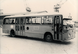 Bus, Omnibus, Magirus Deutz/ Hainje 1960, Rotterdam Public Transport, Real Photo - Auto's