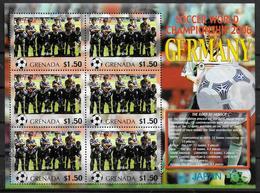 GRENADE Feuillet  N°  ( Japon )  * *  Cup 2006  Football  Soccer Fussball - 2006 – Allemagne