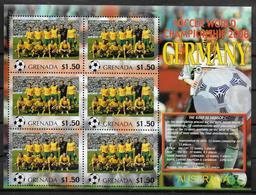 GRENADE Feuillet  N°  ( Australie )  * *  Cup 2006  Football  Soccer Fussball - 2006 – Allemagne