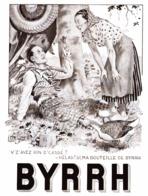 """PUB  """" BYRRH """"  Par  Georges LEONNEC   1932  ( 4 ) - Autres"""