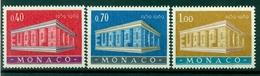 Monaco 1969 - Y & T  N. 789/91 - Europa - Monaco