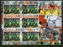GRENADE Feuillet  N°  ( Cote D Ivoire )  * *  Cup 2006  Football  Soccer Fussball - 2006 – Allemagne