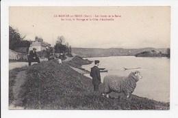 CPA 27 LE MANOIR SUR SEINE Les Bords De La Seine - Le Manoir