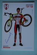 CYCLISME:LENNERT  BELMANS - Cyclisme