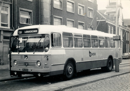 Bus, Omnibus, Leyland- Werkspoor, WSM 4745,Den Haag, Varkensmarkt, Public Transport, Real Photo - Auto's