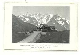 CPMJ 259 CHALET RESTAURANT P.L.M. COL DU LAUTARET VUE DE LA MEIJE - France