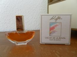 ACHAT IMMEDIAT;;;;MINIATURE RUFFLES D'OSCAR DE LA RENTA 4 ML EASPRIT DE PARFUM - Miniatures Modernes (à Partir De 1961)