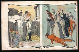 EROTISME EROS RISQUE FEMME GIRL WOMAN  - ENFIN SEULS !! - 1900-1949