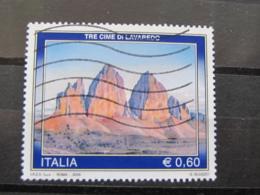*ITALIA* USATI 2008 - TURISTICA TRE CIME LAVAREDO - SASSONE 3050 - LUSSO/FIOR DI STAMPA - 6. 1946-.. Repubblica